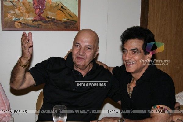 Prem Chopra and Jitendra at DR Pai''s Birthday bash, in Mumbai