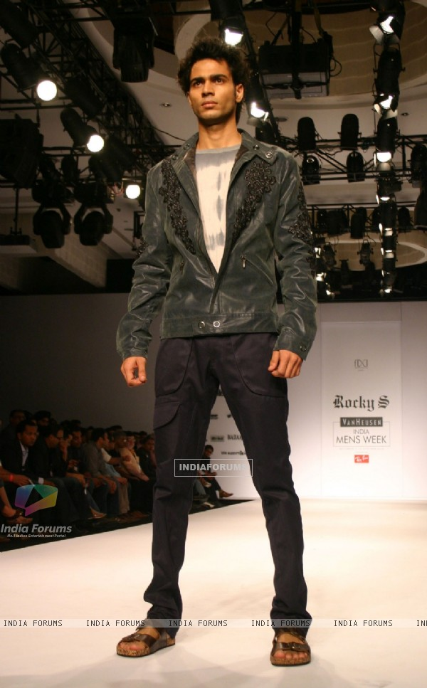Designer Rocky at India Mens Week