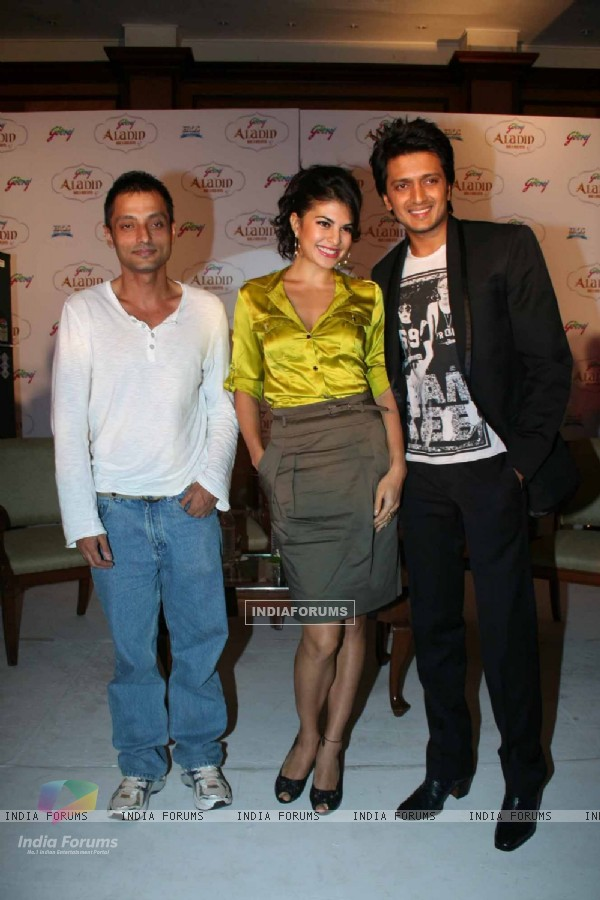 Ritesh Deshmukh at Alladin film first look unveiled