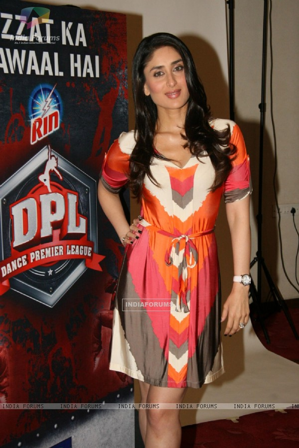 Kareena Kapoor promotes Dance Premiere League in Andheri