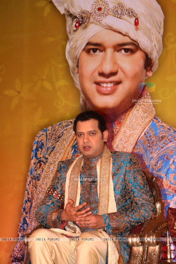 Rahul Mahajan at the launch of NDTV imagine''s Swayamvar-Season-2, ''''Rahul Dulhaniya Le Jayega'''',in New Delhi on Tuesday