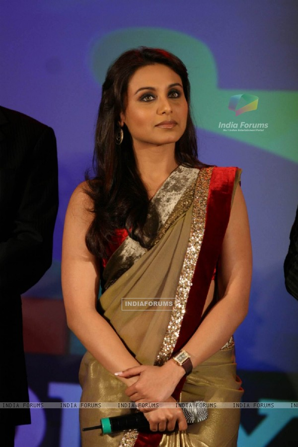 Rani Mukherjee at Dance Premier League (DPL) Launch at JW Marriott