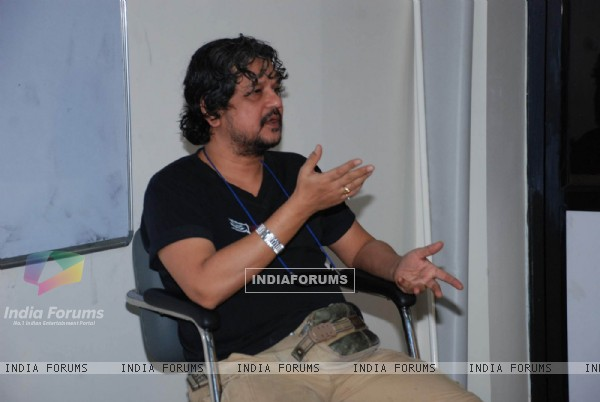 Amol Gupte''s workshop on filmmaking at MET