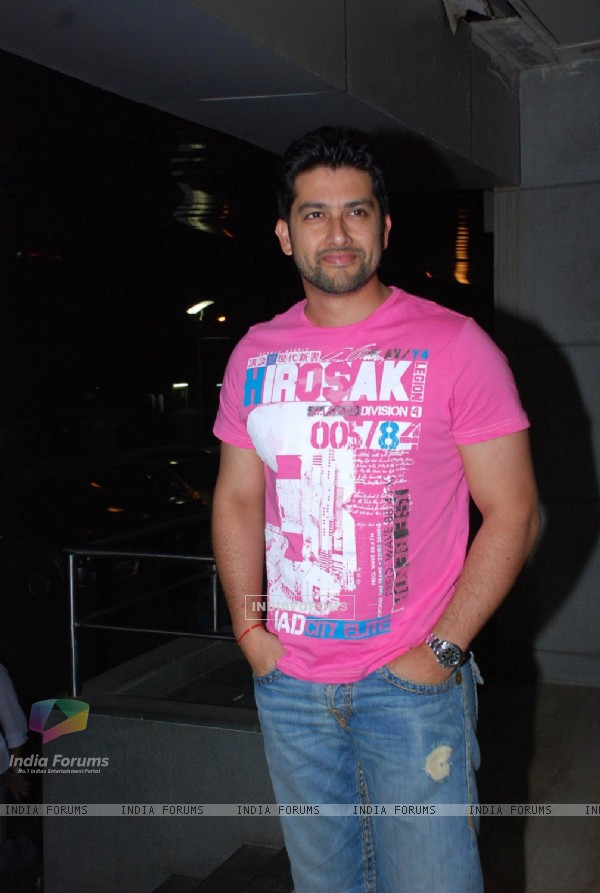 Aftab Shivdasani at Alladin Premiere in Cinemax