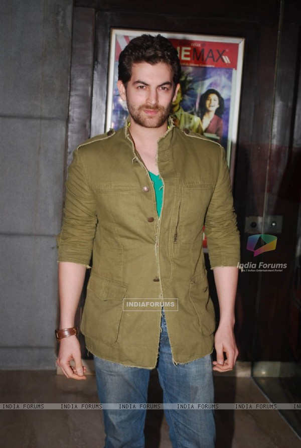 Neil Nitin Mukesh at Alladin Premiere in Cinemax