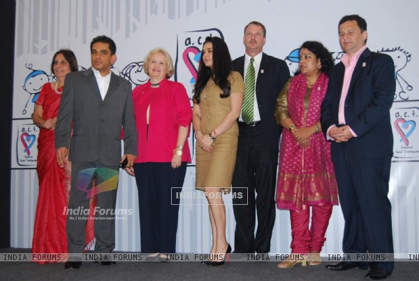 Bollywood actress Preity Zinta at Human Trafficking NGO Event at Taj land''s End in Mumbai