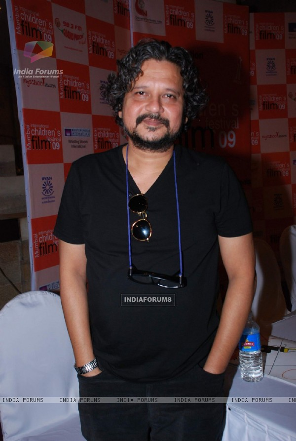 Amol Gupte at Mumbai International Children''s Film Festival press meet at NCPA