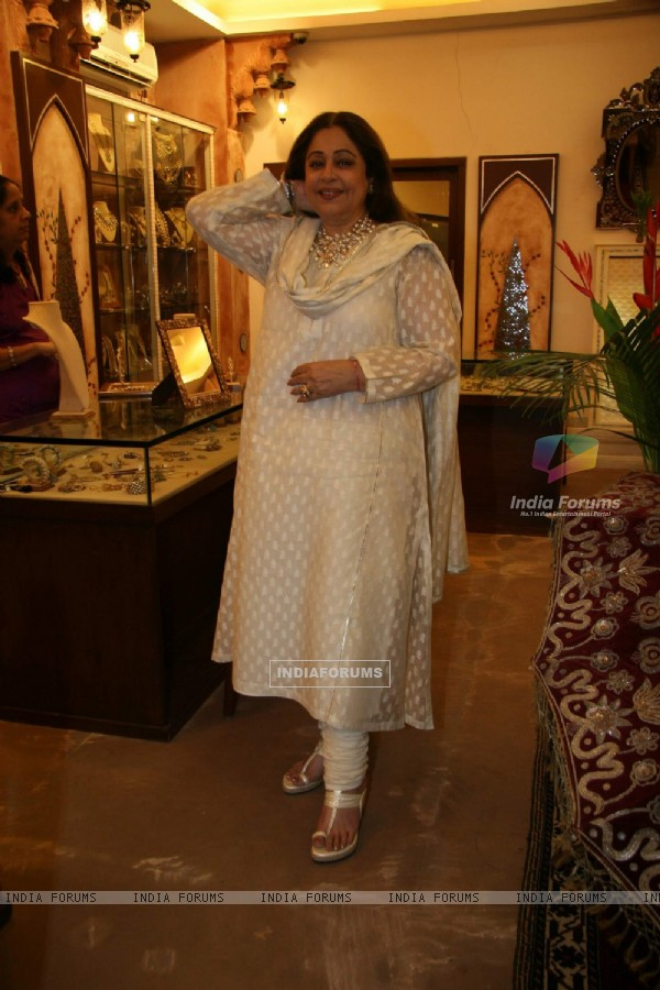 "Kiron Kher at ""Amrapali Jewels Wedding Workshop"" at Bandra"