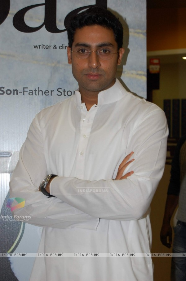 Bollywood Actor Abhishek Bachchan during the promotion of forthcoming film ''Paa'' at BIG FM 927 in Mumbai on Monday, 16 November 2009 (82181)