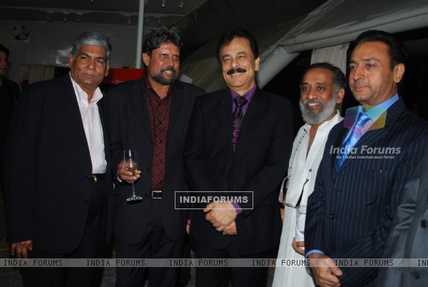 Kapil Dev, Subroto Roy and Gulshan Grover Lalit Intercontinental Anniversary