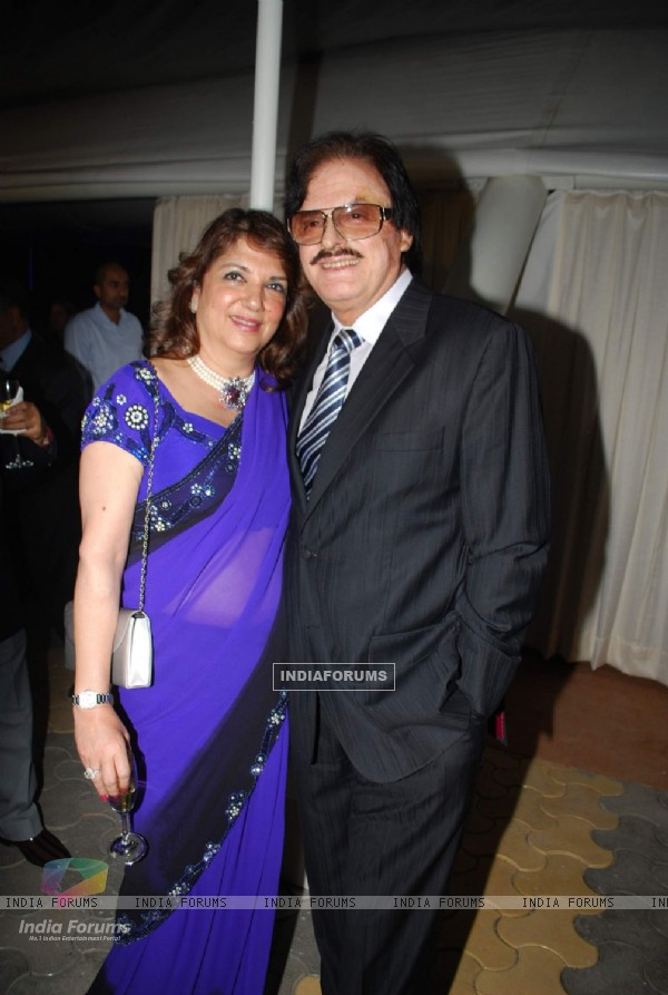 Sanjay Khan with wife at Lalit Intercontinental Anniversary