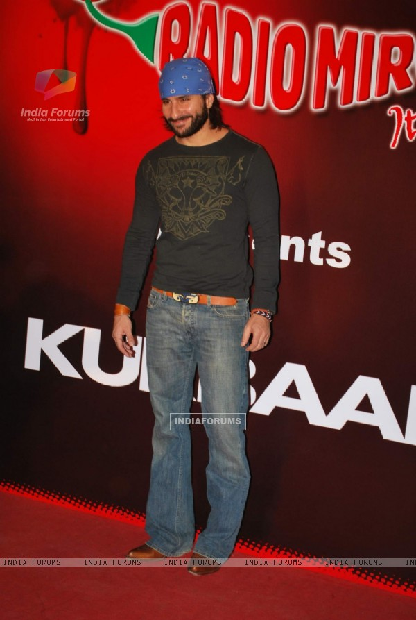 "Saif Ali Khan at ""Kurbaan"" Special Screening at PVR (82263)"