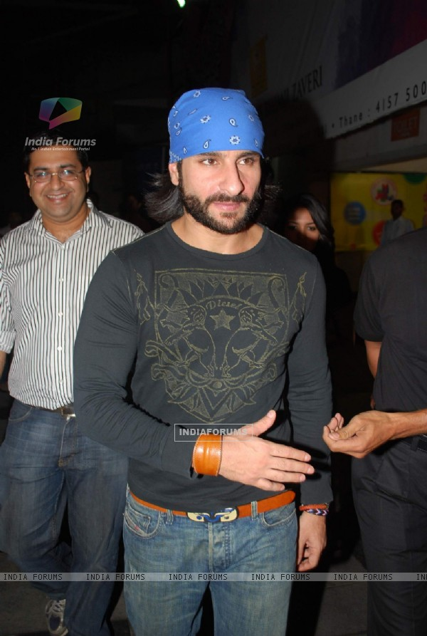 "Saif Ali Khan at ""Kurbaan"" Special Screening at PVR (82264)"