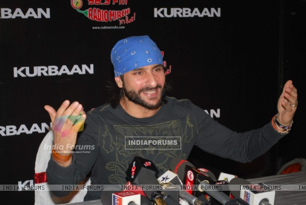 "Saif Ali Khan at ""Kurbaan"" Special Screening at PVR (82265)"