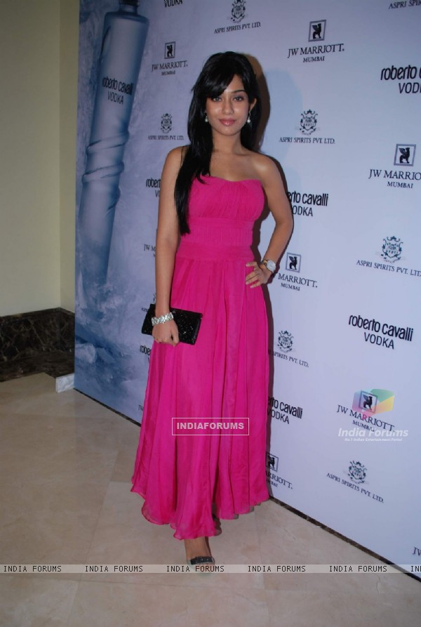 Amrita Rao at Roberto Cavali vodka launch