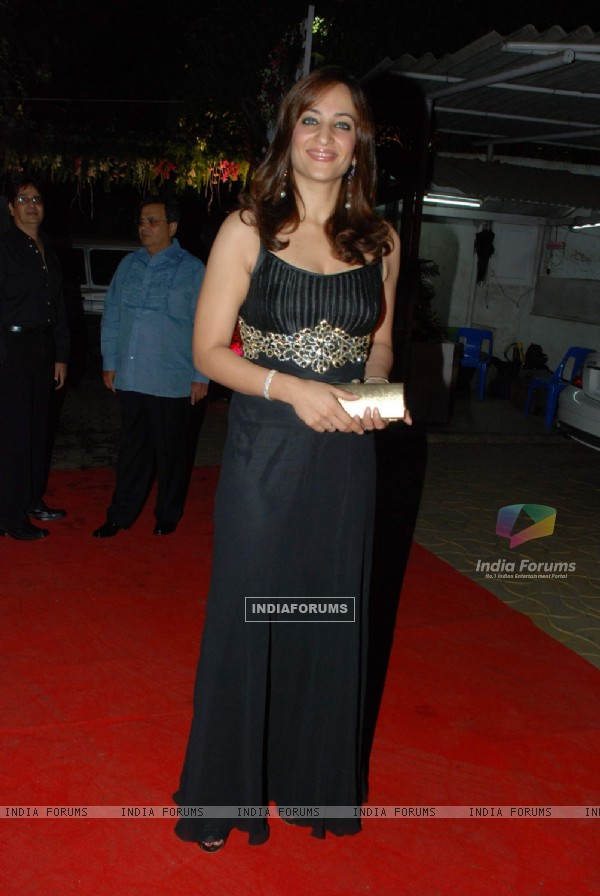 Rakshanda Khan at Isha Koppikar''s wedding reception