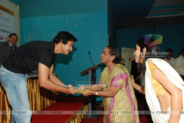 Shreyas Talpade at Namrada Kidney Donation event at Khar Gymkhana