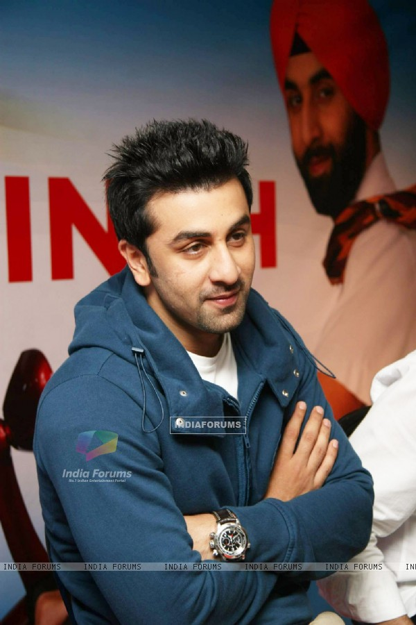 Ranbir Kapoor at Rocket Singh press meet (IANS: Photo)