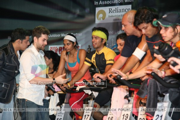 Neil Nitin Mukesh at Spinathon contest