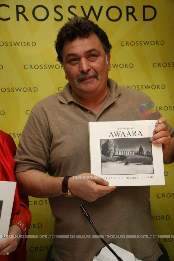 Rishi Kapoor at the Awara book launch at Crossword