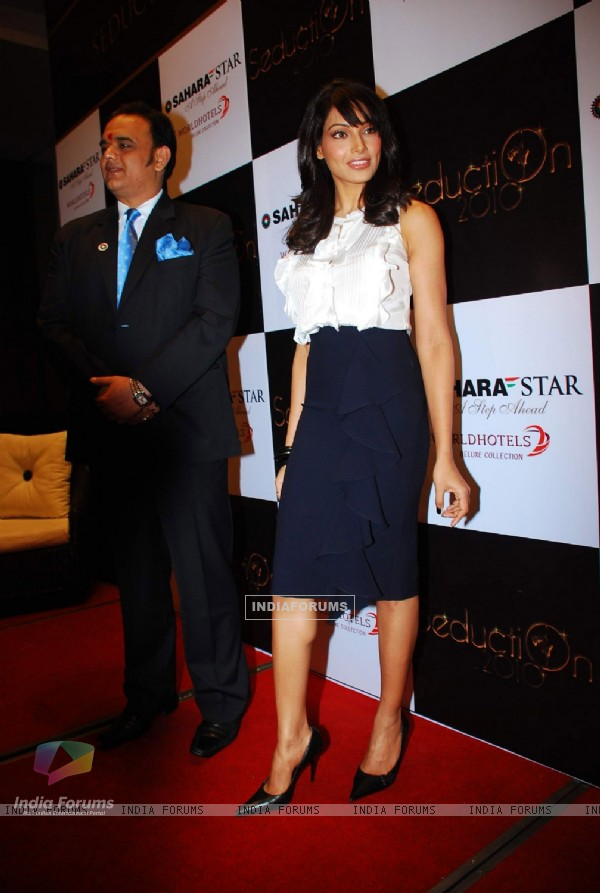 Bollywood actress Bipasha Basu at Sahara Star''s New Year Bash press meet at Sahara Star