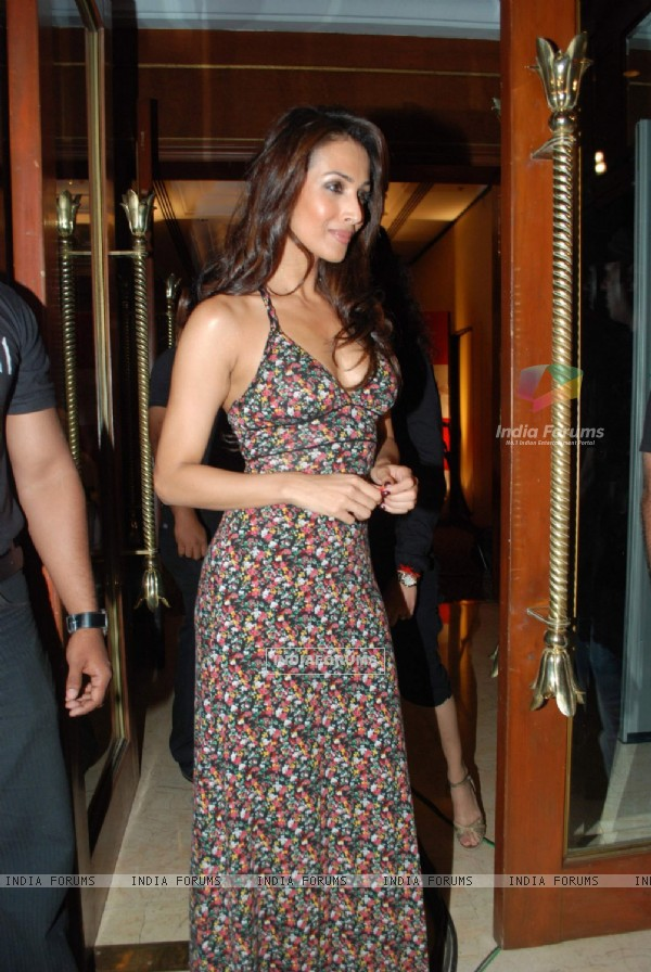"Bollywood actress Malaika Arora attending event ""A Tribute to Kaifi Azmi Mijwan"" in Mumbai"