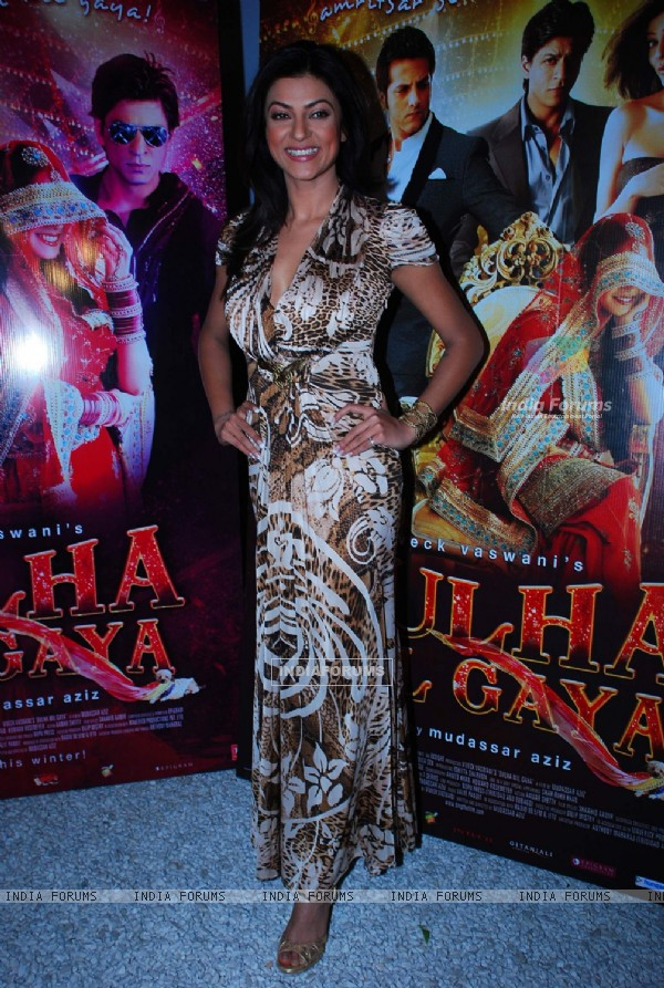 Sushmita Sen at Dulha Mil Gaya Bash at Olive