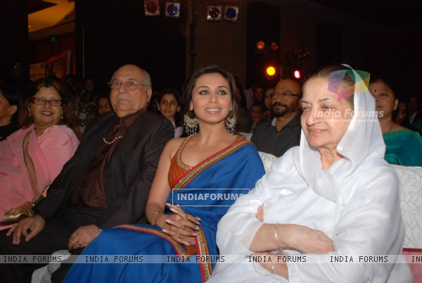 Rani Mukherjee at V Shantaram Awards at Novotel