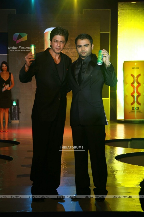 Shahrukh Khan at Energy Drink XXX launch at Grand Hyatt