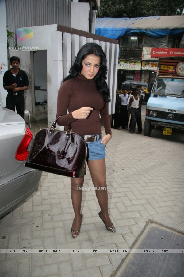 Bollywood actress Celina Jaitley unveils the annual PETA Calendar at Bandra, Mumbai