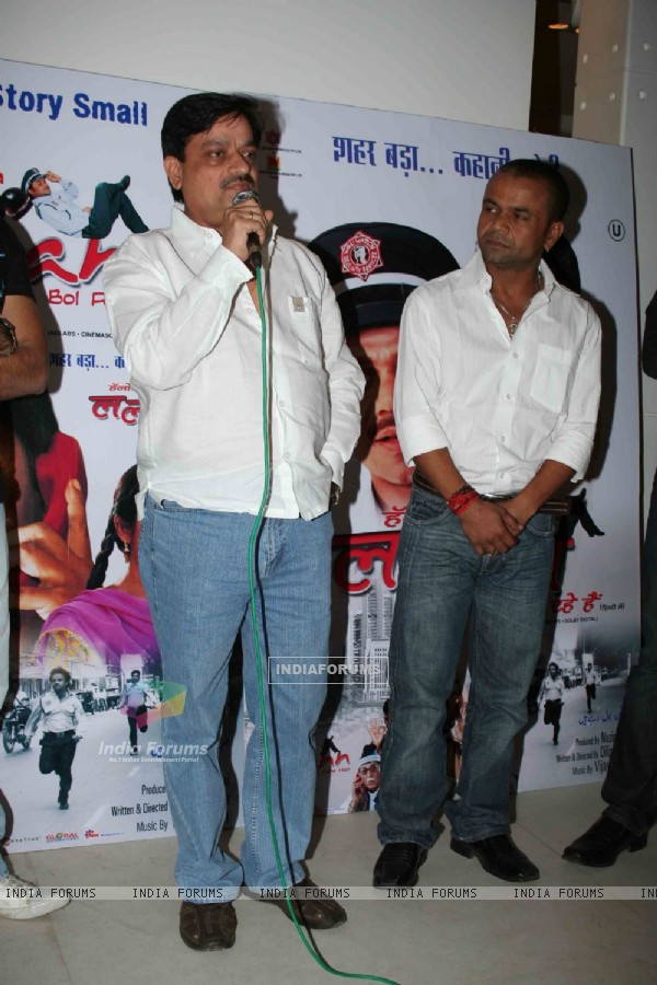 "Bollywood comedian Rajpal Yadav at the music launch of ""Hum Lallan Bol Rahe Hai"" at Puro, Bandra, Mumbai"