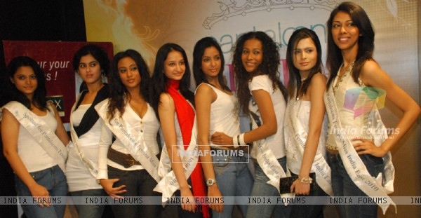 The audition round of the Pantaloons Femina Miss India (east)2010 started in Kolkata on 5th Jan  Actress June Malia & Fashion Designer Agnimitra Paul thoroughly assessed and scrutinized each of the selected girls