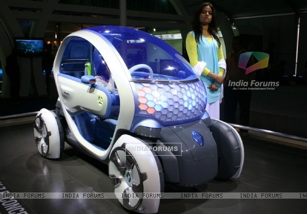 New Delhi,05 Jan 2010- Twizy ZE concept at the ''''10 th Auto Expo 2010'''', in New Delhi on Teusday