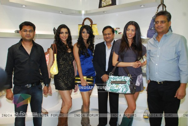 Models Pia Trivedi, Arushi Virani and Puja Hegde launch Miss Sixty accessory store in Mumbai