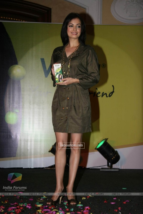 Dia Mirza at Veola Hair Oil Launch in ITC Parel
