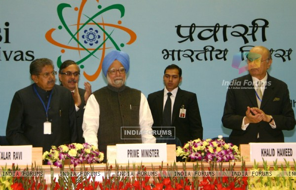Prime Minister Dr Manmohan Singh, Union Minister for Overseas Indian ...