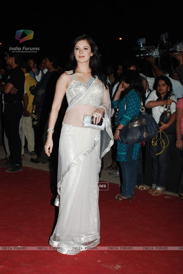 Urvashi Sharma at Star Screen Awards red carpet