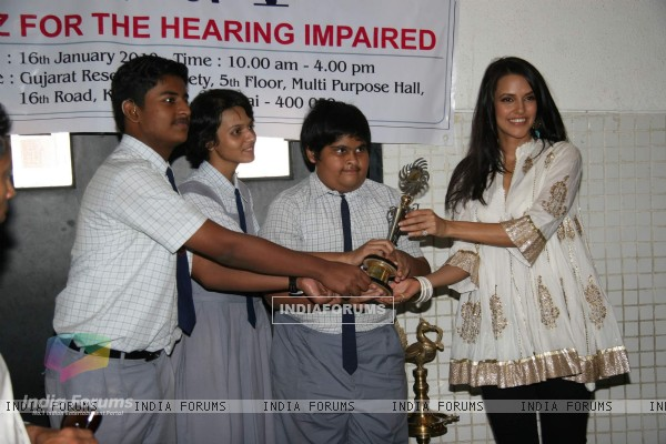 Neha Dhupia at Deeds NGO event