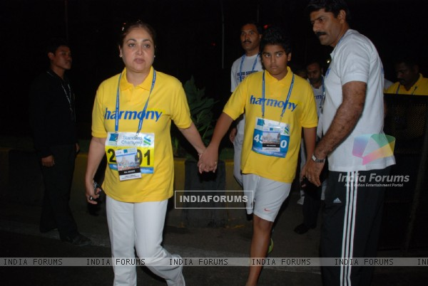 Tina Ambani at Marathon High Res in Mumbai