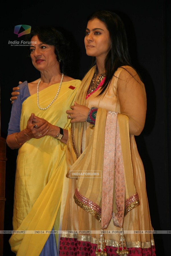 Tanuja and Kajol come together for
