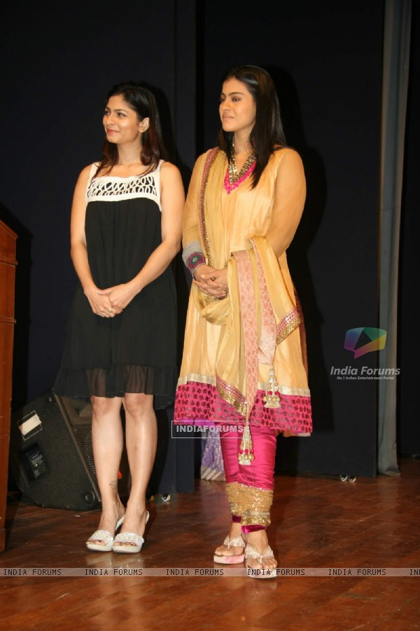 Tanisha Mukherjee and Kajol come together for