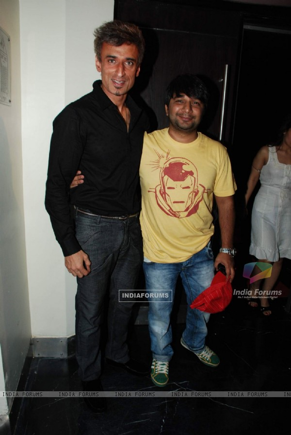"Model Rahul Dev at the screening of ""Veer"" at PVR in Mumbai"
