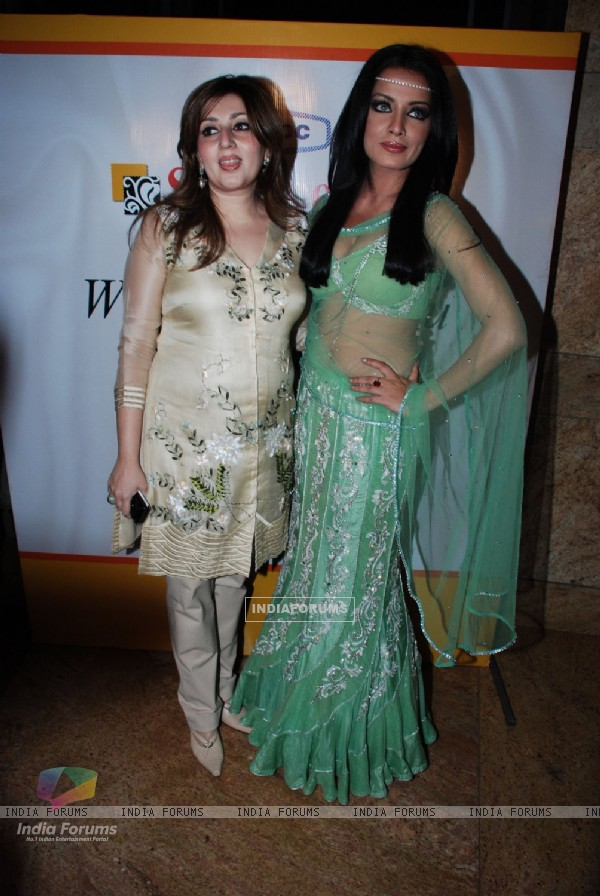 Celina Jaitley walks the ramp for top designers on Source Show at Grand Hyatt