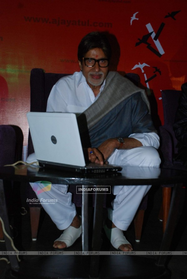 Music directors Ajay and Atul Gogawales website ajayatulcom launched by Amitabh Bachchan at Hotel JW Marriott, Juhu