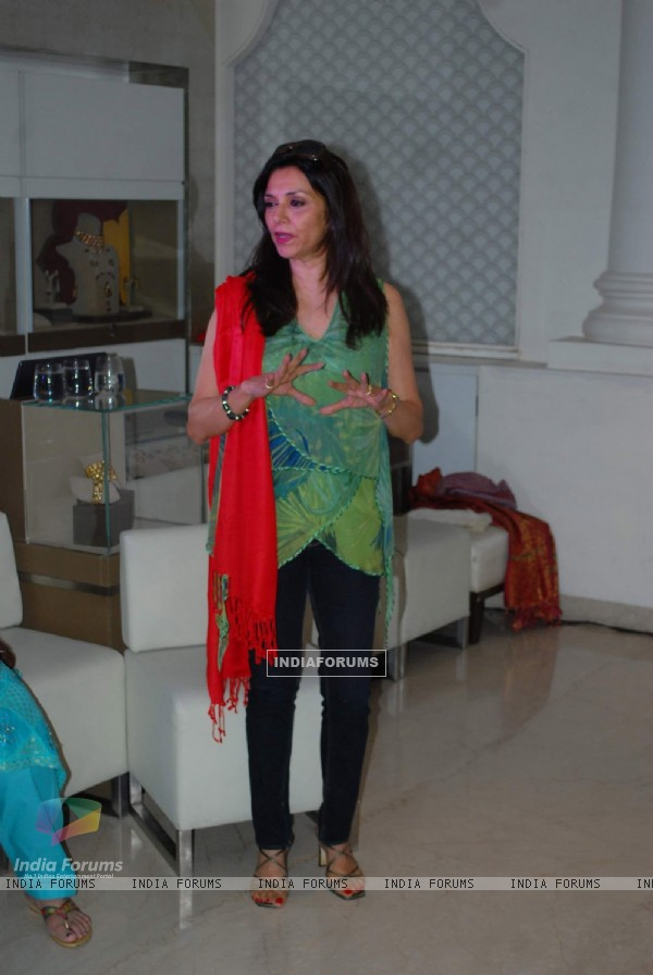 Reading by Lilette Dubey for Gita Mehta''s The Teacher Story at Zoya