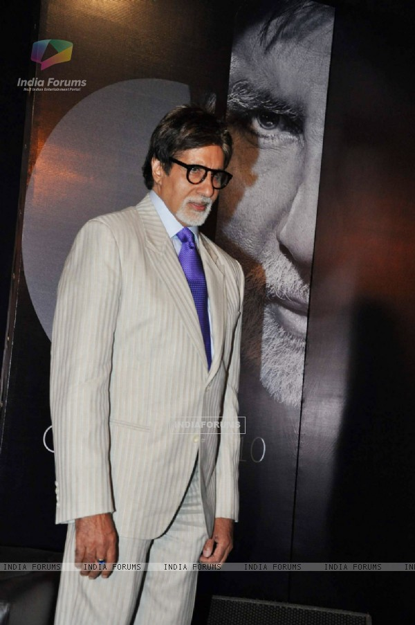 Amitabh Bachchan unveils Bachchan Bol at Trident in Mumbai on Tuesday Evening