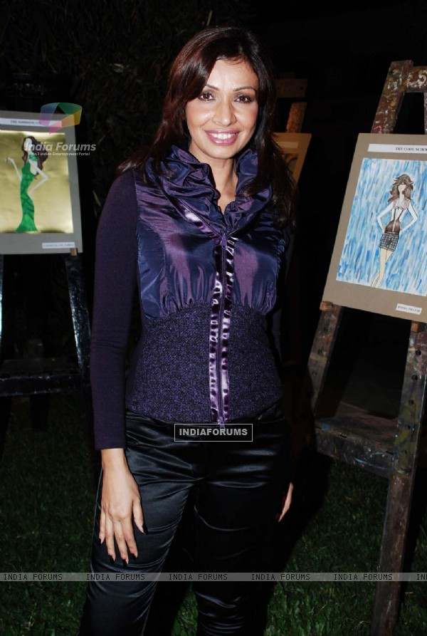 Achala Sachdev at Alchemy Show of LS Raheja Technical Institute at Raheja Classique