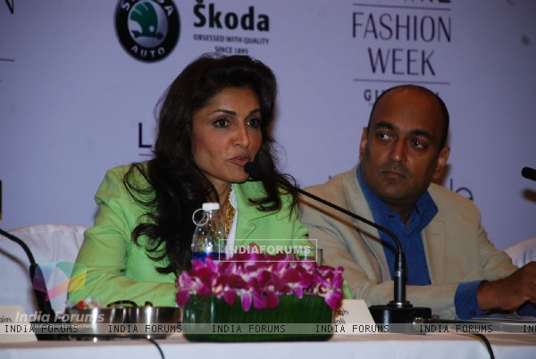 Queenie Dody at the announcement of Lakme Fashion Weeks Designers and Sponsors for Summer/Resort 2010 at Grand Hyatt, Mumbai