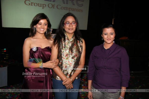 Seema Biswas judges Trans-gender beauty contest V-vare Indian Super Queen semi finals at Royal Palms, Goregaon East