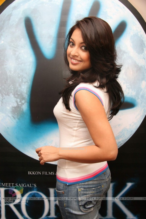 "Model-turned-actress Tanushree Dutta at the promotional event of her upcoming movie ""Rokk"""
